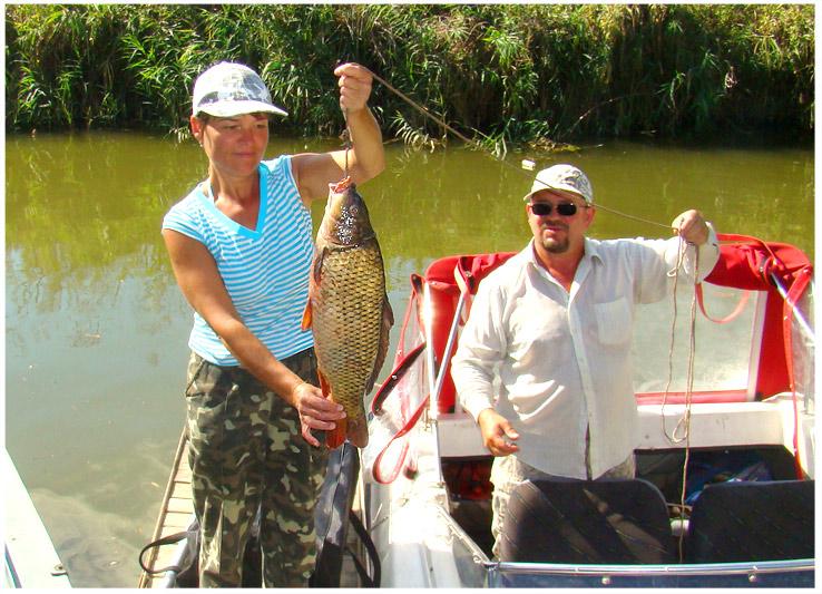 большая рыбалка на островах днестра
